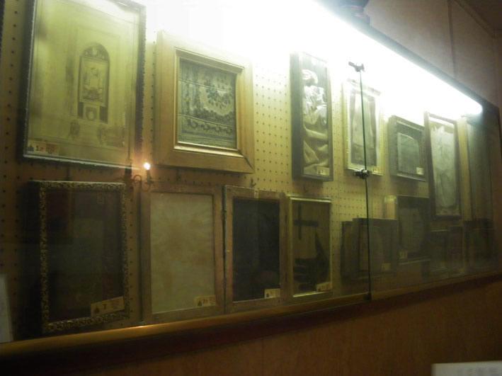 Muzeum dusz w czyśćcu cierpiących w Rzymie .