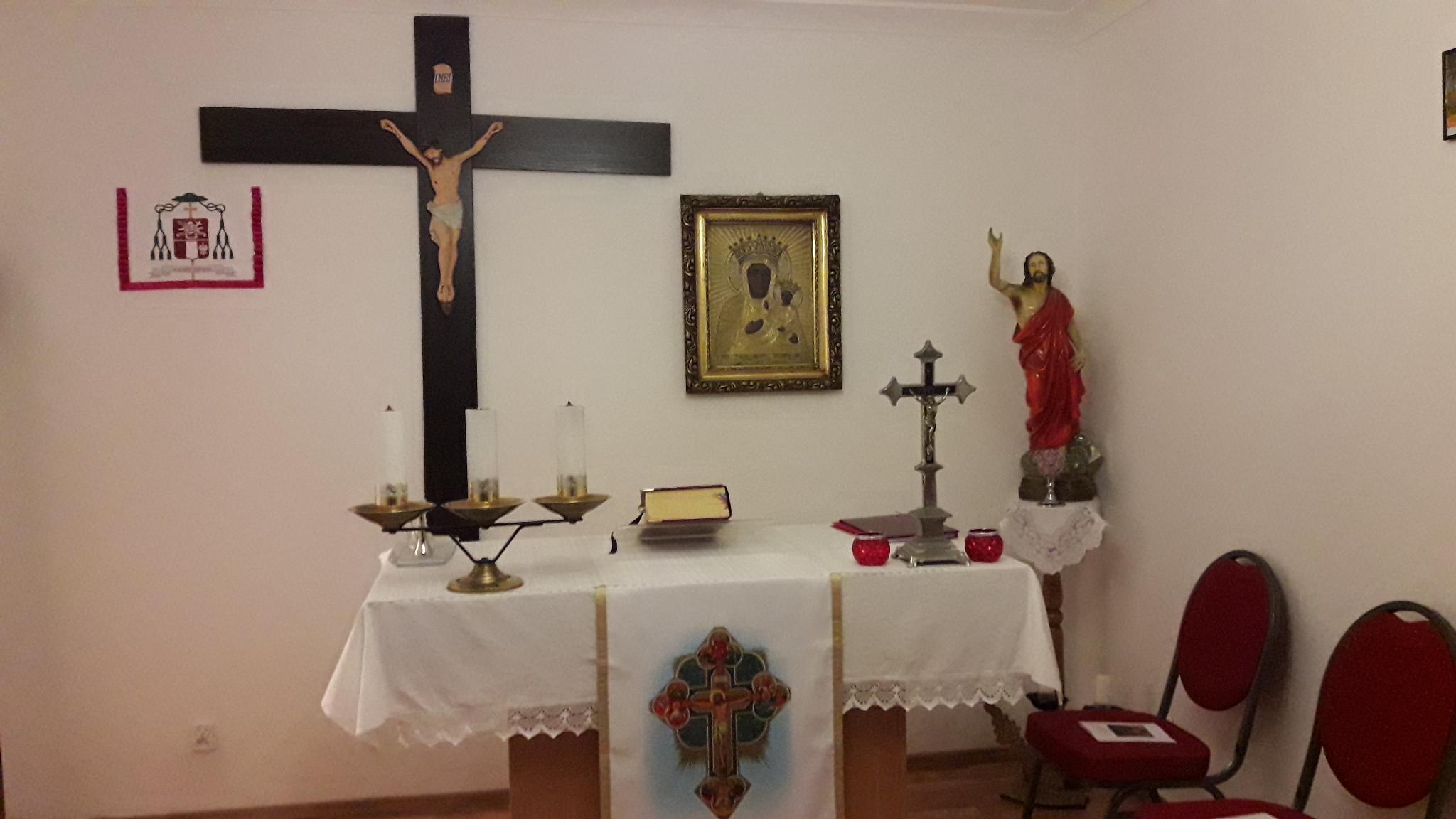 [:pl]Rozpoczęcie uroczystości poświęcenia kaplicy w Warszawie[:]