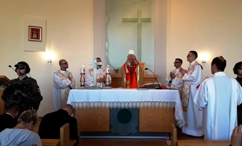 [:pl]Msza święta  w Sanktuarium Matki Bożej Bolesnej w Licheniu - Pielgrzymka do Domu Matki[:]