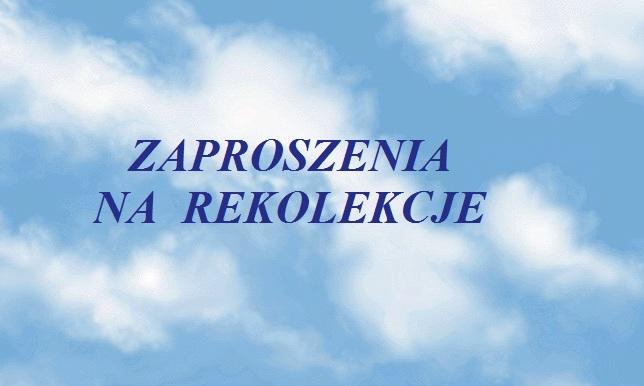 [:pl]Rekolekcje i adwentowe dni skupienia[:]