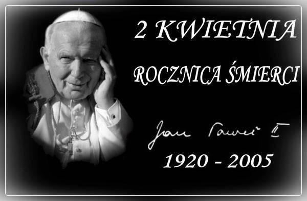 Trzynasta rocznica śmierci świętego Jana Pawła II