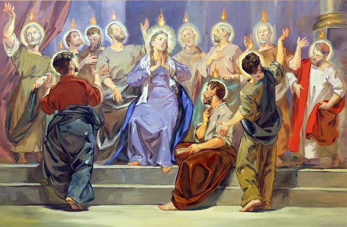 Uroczysta Msza święta Zesłanie Ducha Świętego - Parafia w Szczecinie
