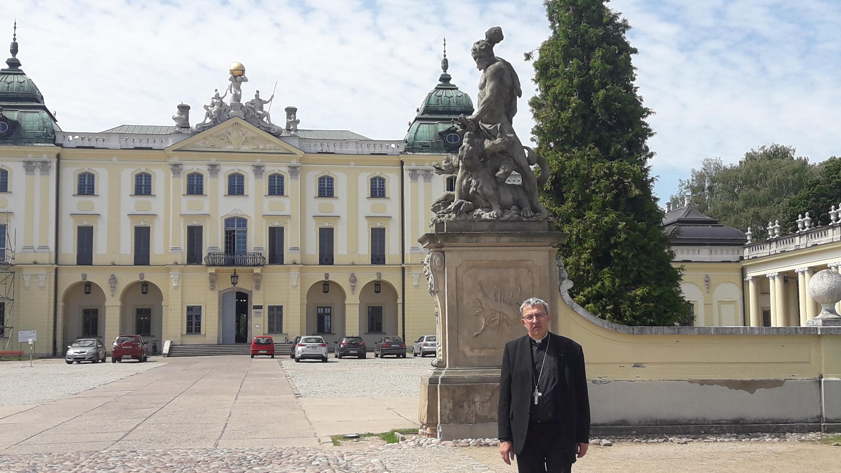 Piękno Podlasia - wizyta księdza Biskupa Adama w stolicy Podlasia Białymstoku.