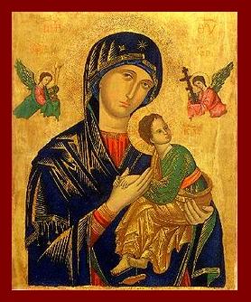 Msza święta z nowenną do Matki Bożej Nieustającej Pomocy