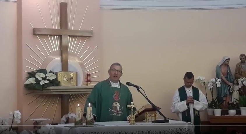 Msza święta - pierwszy dzień pielgrzymki w Medjugorie