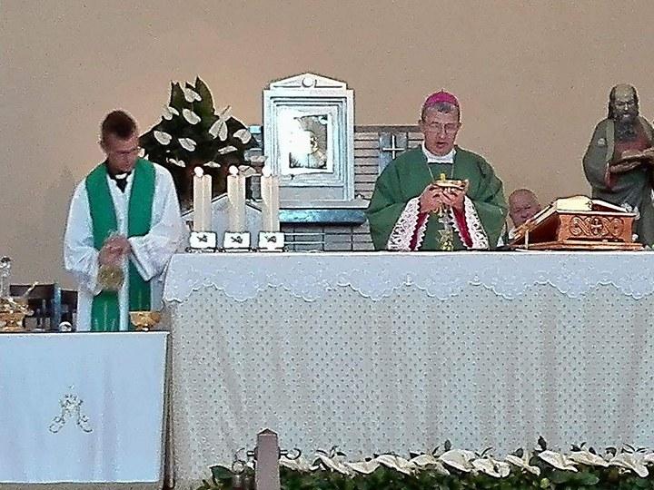 Msza święta w Medjugorie - ostatni dzień pielgrzymki