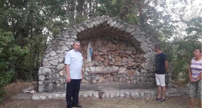 Apel Maryjny na granicy Bośniaczko - Chorwackiej