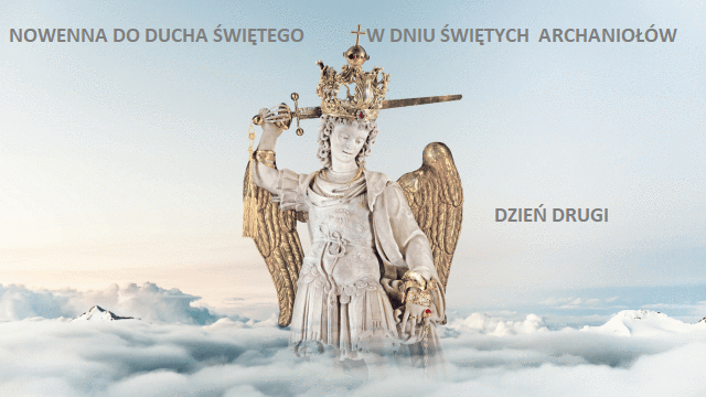 Drugi dzień nowenny do Ducha Świętego