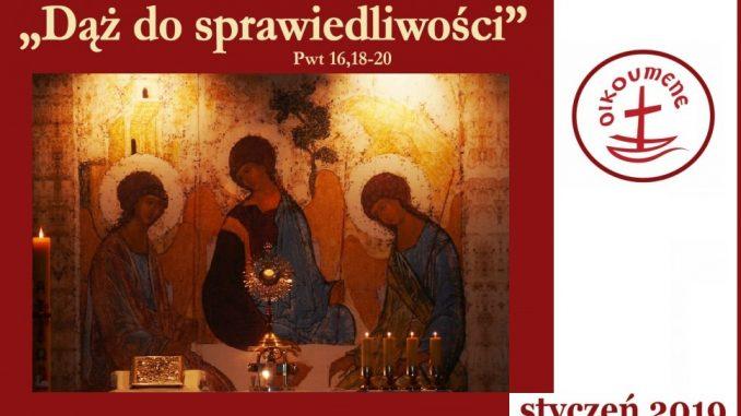 Znalezione obrazy dla zapytania tydzień modlitw o jedność chrześcijan 2019 poznań