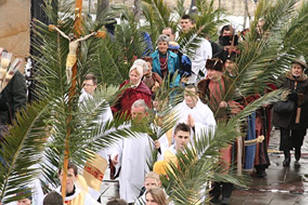 Niedziela Palmowa w Parafii w Szczecinie