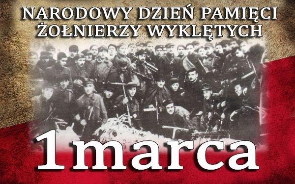 Dziś Narodowy Dzień Pamięci Żołnierzy Wyklętych