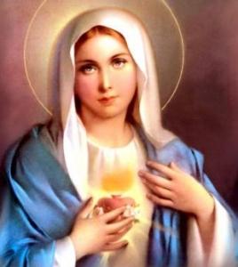 Rozważanie ze słowami Litanii Loretańskiej - Święta Maryjo