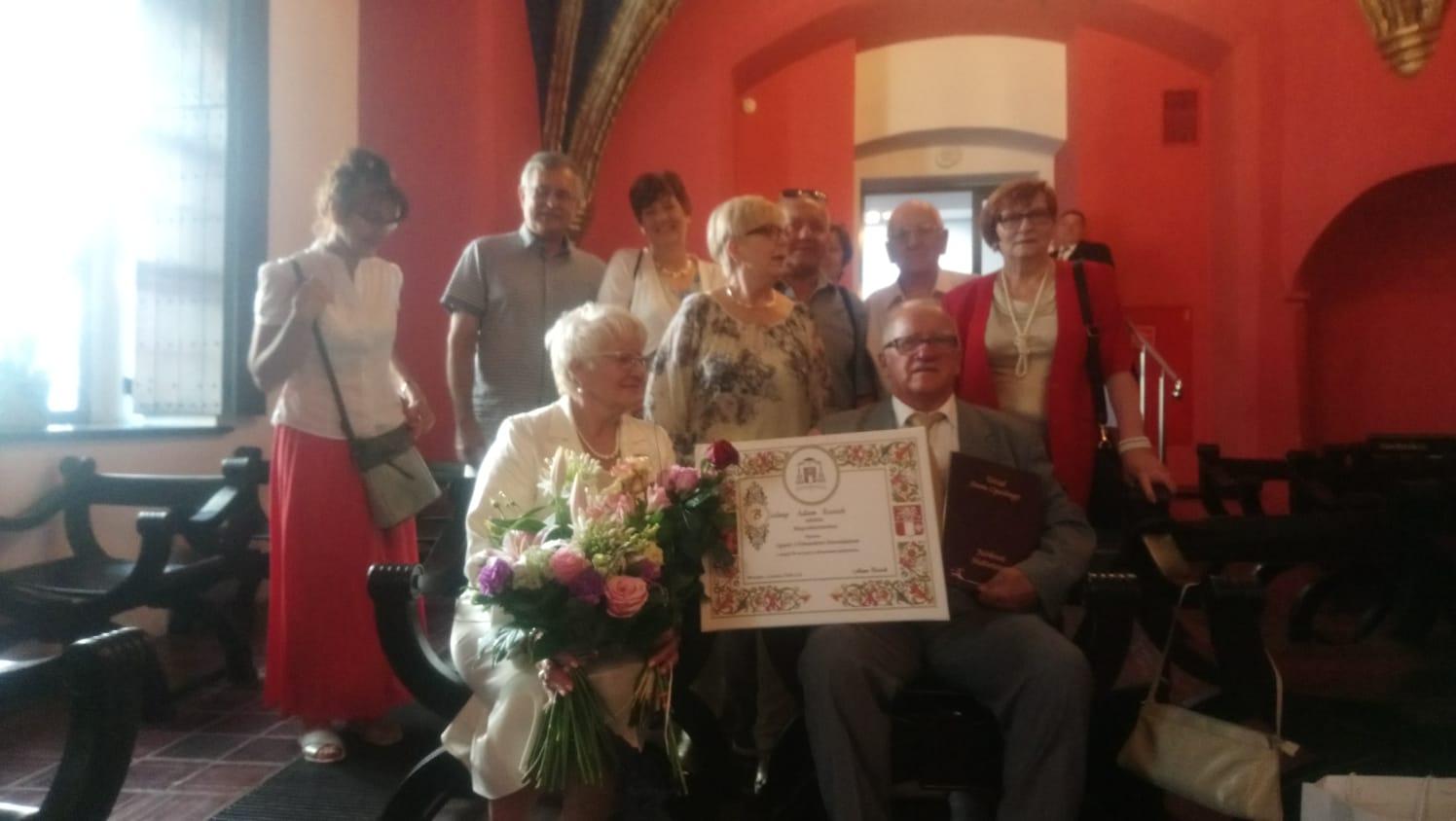 Złoty jubileusz małżeństwa szczecińskich Parafian 28.06.2018