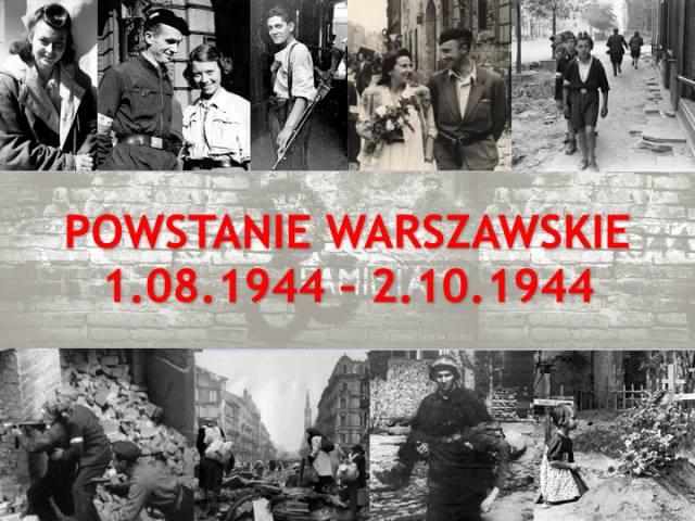 Siedemdziesiąta piąta rocznica wybuchu  Powstania Warszawskiego - pamiętamy