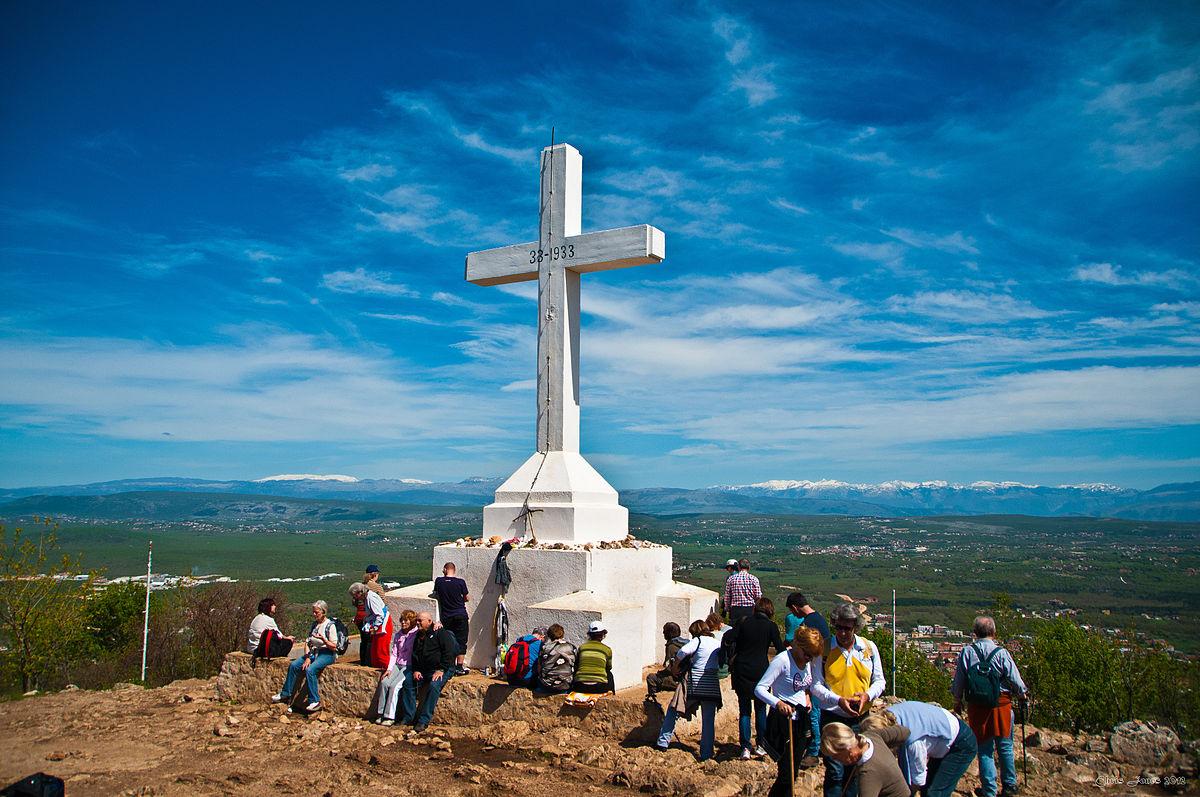 Droga Krzyżowa na górę Kriżewac (28.09.208)