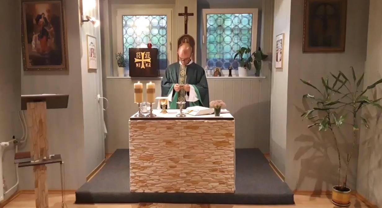 Transmisja mszy świętej z parafii w Szczecinie (02.09.2018)