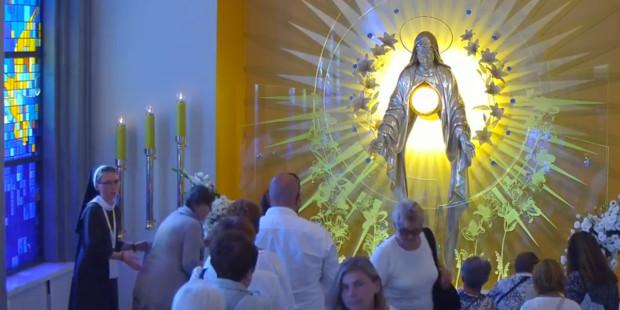 Niezwykła historia kaplicy w Niepokalanowie (01.09.2018)