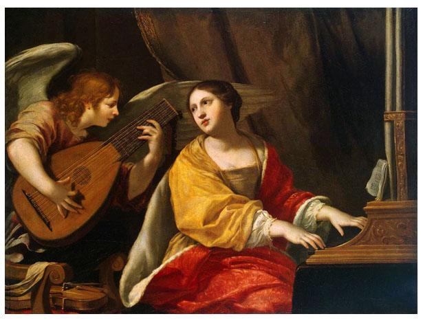 Patronka muzyków i muzyki - święta Cecylia