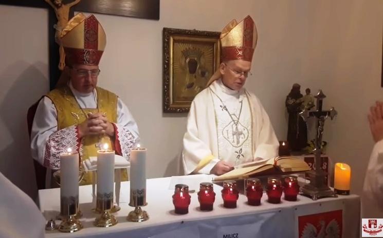 Msza święta w uroczystość Jubileuszu 100- lecia odzyskania niepodległości