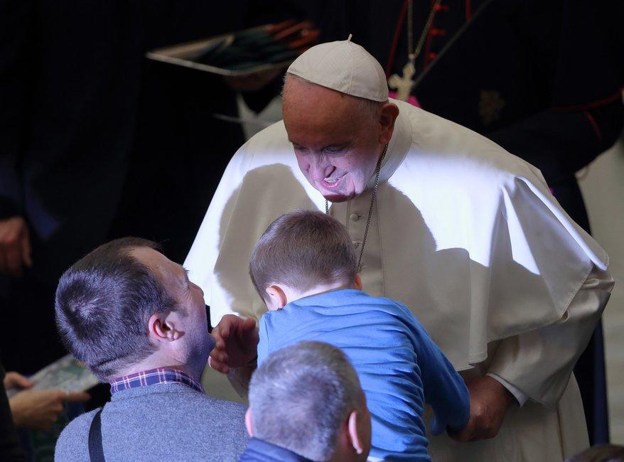 Niezwykłe zdarzenie podczas audiencji generalnej w Watykanie