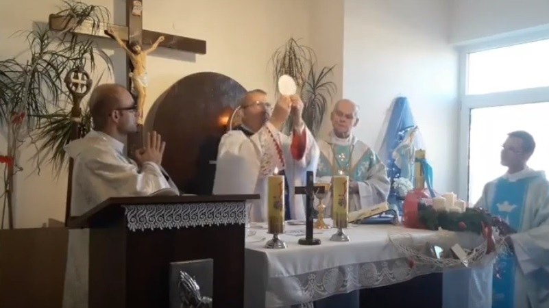 Msza święta w uroczystość Niepokalanego Poczęcia 08 grudnia 2018 r. godz. 12.00