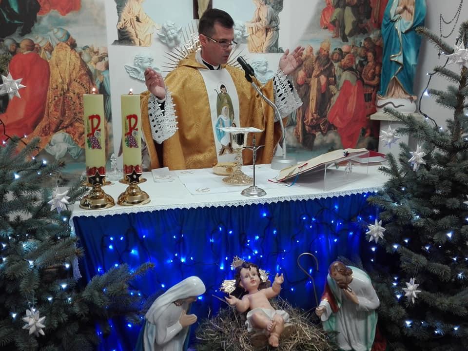 Msza święta pasterska w parafii w Wieluniu