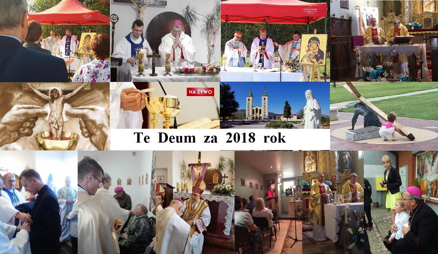 Dziękczynne podsumowanie roku 2018 - Te Deum laudamus