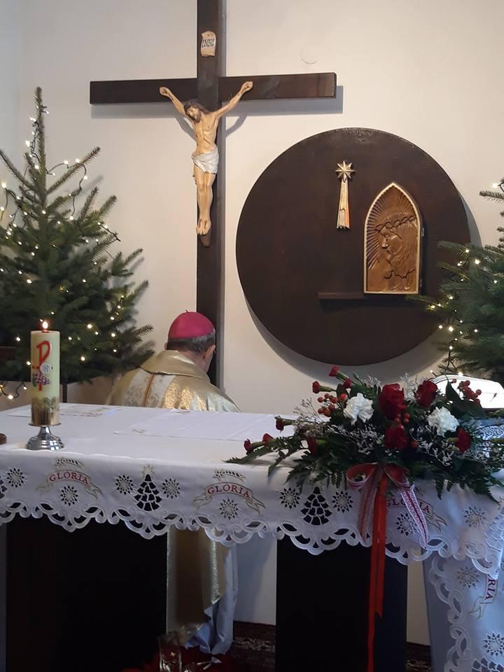 Te Deum Biskupa Adama Rośka w czwartą  rocznicę sakry biskupiej