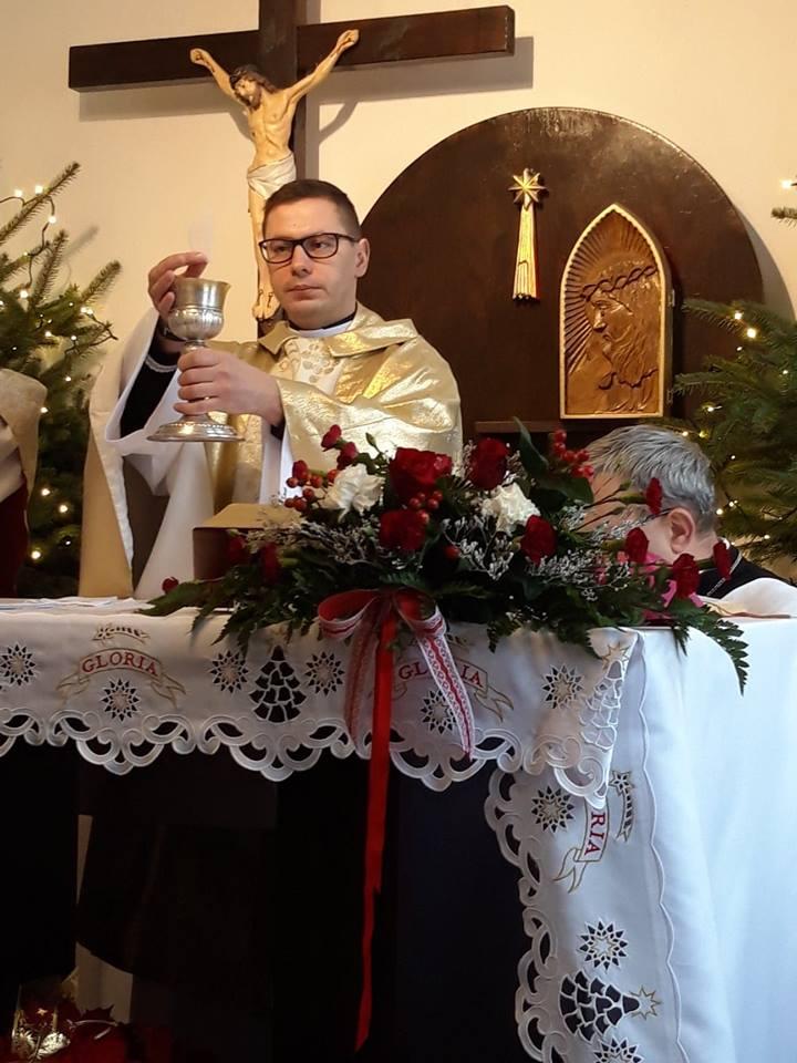 Msza święta prymicyjna księdza neoprezbitera Aleksieja - niedziela 27.01.2019
