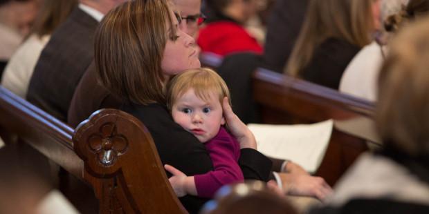 List do rodziców, którzy zabierają na mszę swoje niesforne dzieci.