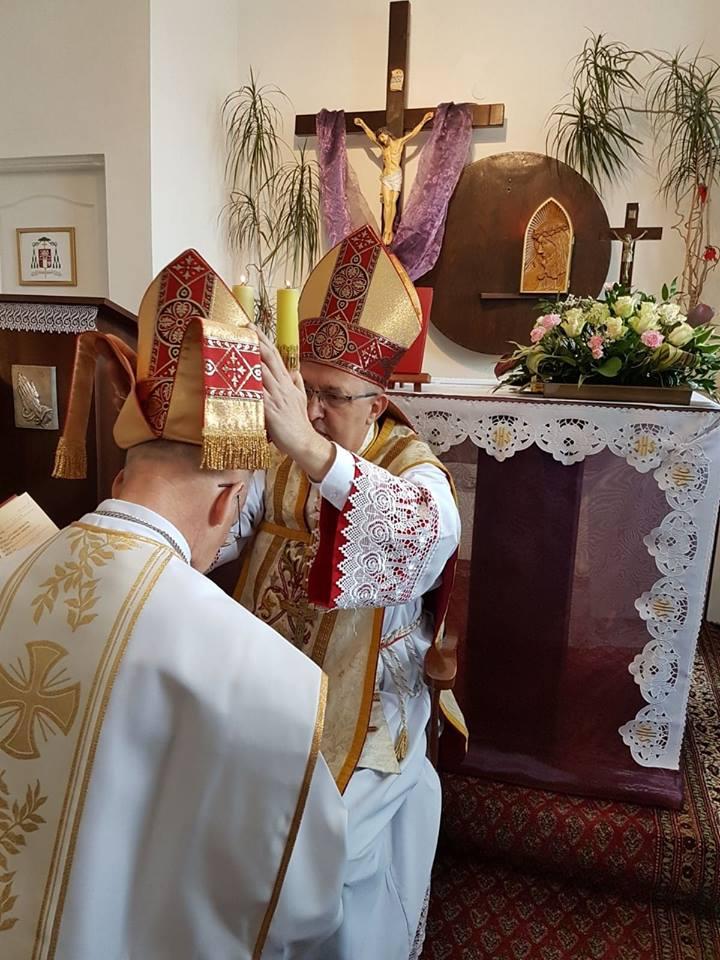 Pierwsza rocznica sakry biskupiej Jego Ekscelencji ks.bpa Andrzeja Lipińskiego - Biskupa Pomocniczego Katolickiego Kościoła Narodowego - 17.03.2019