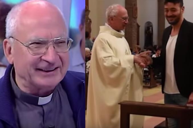 Ma 71 lat, syna i trójkę wnuków. Jest szczęśliwym księdzem.