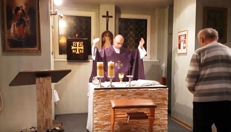Transmisja Mszy Świętej w Katolickiej Telewizji Regionalnej KKN 2