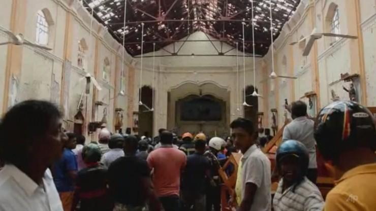 Eksplozja w trzech kościołach w czasie mszy świętej i trzech hotelach. Zabitych jest ponad 200 osób