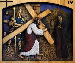Droga Krzyżowa - piątek czwartego tygodnia Wielkiego Postu godz. 19.30