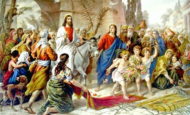 Liturgia Niedzieli Palmowej - Msza święta 14.04.2019 r. godz. 10.00