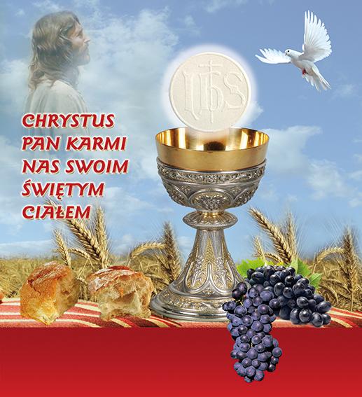 Msza święta w uroczystość Najświętszego Ciała i Krwi Pańskiej