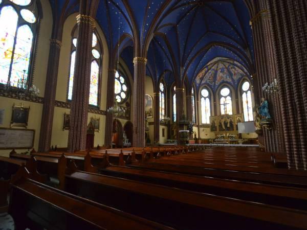 Atak na księdza w szczecińskiej bazylice świętego Jana Chrzciciela.