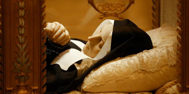 Cud relikwii ciała świętej Bernadety