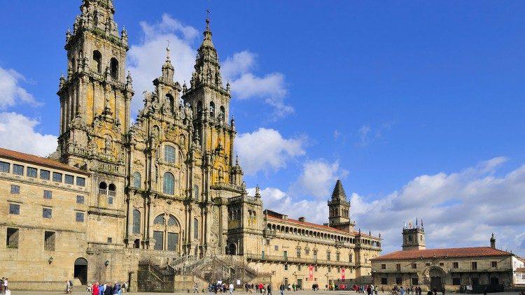 Pielgrzymi u świętego Jakuba w Santiago de Compostela