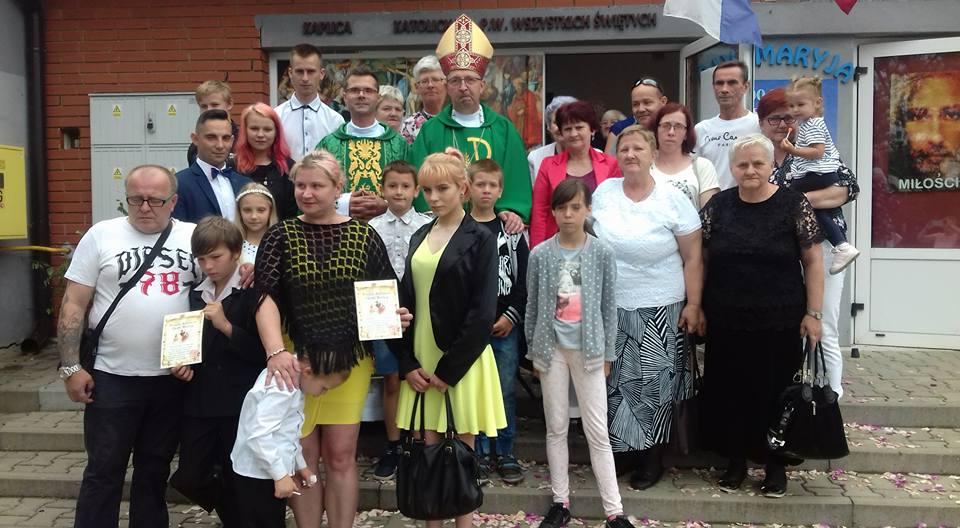 Kolejna rocznica erygowania Parafii p.w. Wszystkich Świętych w Wieluniu