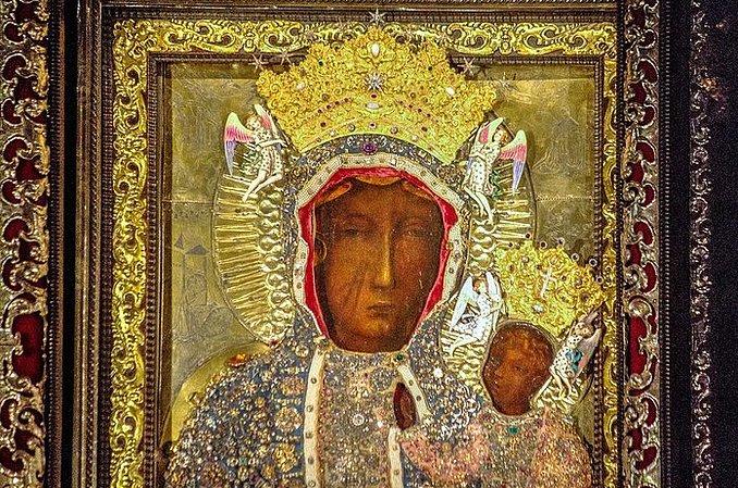 Msza święta w uroczystość Matki Bożej Częstochowskiej - Wieluń