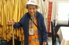 Wystarczy ufać Bogu, chcieć i realizować swoje marzenia - 95 latka na pieszo z Italii na Jasną Górę