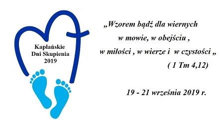 Kapłańskie Dni Skupienia  29-21 września 2019 r.