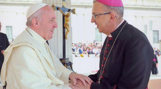 Niezwykłe spotkanie z Ojcem Świętym