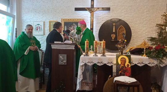 Uroczysta Msza Święta pontyfikalna z okazji szóstej rocznicy sakry biskupiej J.E. Ks. Bpa Adama Rośka - Pierwszego Biskupa Kościoła