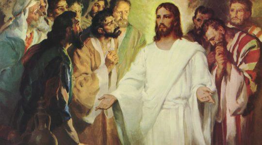 Pokój Wam - homilia na III Niedzielę Wielkanocną