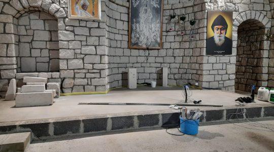 Trwają prace wykończeniowe w Sanktuarium Matki Bożej Wniebowziętej we Florencji