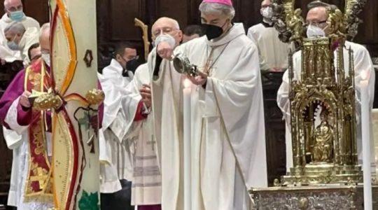 Krew Świętego Januarego nie rozpuściła się drugi raz z rzędu . Co to oznacza?