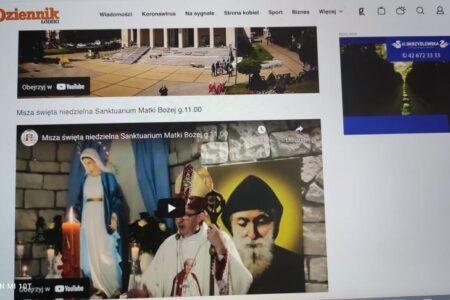 TOP lista transmisji Mszy Świętej na żywo